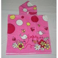 Buy cheap 60*120cm cotton printed hooded towels for kids beach towels from wholesalers