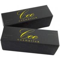 Buy cheap Elegant Offset Printing With Gold Foil Cosmetic Box from wholesalers