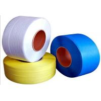 Buy cheap Blue Color High Tensile Breaking Strength Semi Automatic Pp Strapping Roll from wholesalers