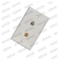Buy cheap Modular jack TV antenna jack combination wall plate from wholesalers