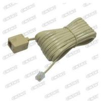 Buy cheap Straight telephone wire with plug to jack from wholesalers