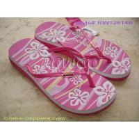 Buy cheap Fashional PE Flip flop RW12614B from wholesalers