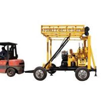 Buy cheap YZJ-200YY Trailer Mounted Portable Drilling Rig from wholesalers
