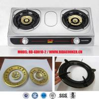 Buy cheap popular 2 burner Stainless steel gas cooker/gas hob/cooktop/gas stove oven (RD-GD010-2) from wholesalers