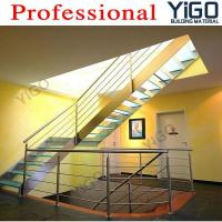 Buy cheap Modern Stair Stainless Steel Railing Glass Steps from wholesalers