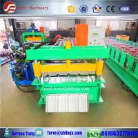 Buy cheap Corrugated Roofing Sheet Roll Forming Machine from wholesalers