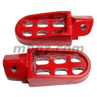 Buy cheap Red Foot Peg for 4-stroke Chinese 50cc 90cc 110cc 125cc Dirt Bike from wholesalers