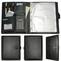 Buy cheap Business leather bound ring binder a4 clear file decoration with school file from wholesalers