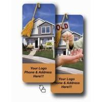 Buy cheap Lenticular bookmark with real estate realtor hands sold keys to buyer of house, flip from wholesalers