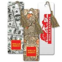 Buy cheap Lenticular bookmark with American paper currency to assorted coins, flip from wholesalers