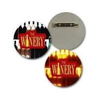 Buy cheap Lenticular Lapel Pin with custom design, The Winery, bottles light up in the background, flip from wholesalers