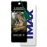 Buy cheap 3D Bookmark with Tyrannasaurous Rex dinosaur Imax movie, depth from wholesalers