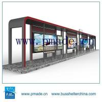 Buy cheap Outdoor Customized Bus Shelter Size from wholesalers