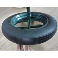 Buy cheap 14X4 Rubber Solid Wheel for Wheel Barrow from wholesalers