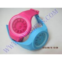 Buy cheap chrysanthemum dial silicone rubber quartz watch from wholesalers