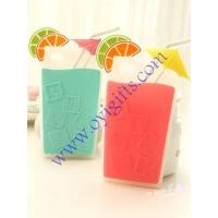 Buy cheap Cartoon drink cup Silicone cellphone covers case from wholesalers