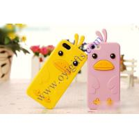 Buy cheap Funny Chicken Duck Silicone Birds Gel phone case from wholesalers