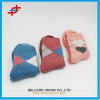 Buy cheap Polyester Woll Warm Color Terry socks from wholesalers