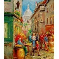 Buy cheap Rue de Montmartre, Paris from wholesalers