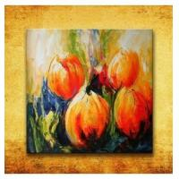 Buy cheap Abstract oil painting flowers from wholesalers