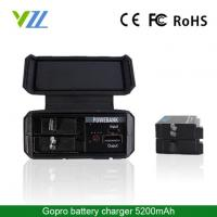 Buy cheap Portable Travel Dual 2 Battery Charger Mini USB Cable for Gopro Hero 4 Ahdbt-401 from wholesalers