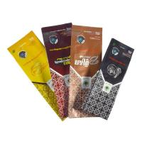Buy cheap Side gusseted bags Hot Sale aluminum foil side gusset coffee powder pouches product