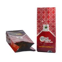 Buy cheap Quad seal bags quad seal food bag block bottom bag for hulled safflower seeds or beans packing product