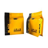 Buy cheap Quad seal bags Customizsed Wholesale Quad Seal Side Gusseted Bag with ziplock packaging supplier product