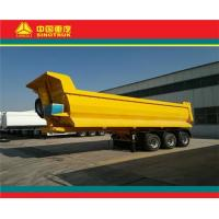 Buy cheap flatbed and tipper semi trailer china 3 axle 40-80 tons tipper dump semi trailer (22000USD) from wholesalers