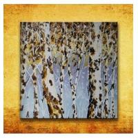 Buy cheap Pure hand-painted abstract oil painting - Birch from wholesalers