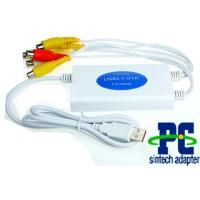 Buy cheap USB 2.0 VIDEO AUDIO Real time CAPTURE ADAPTER RECORDER CARD 4CH chip:SMI2022 from wholesalers