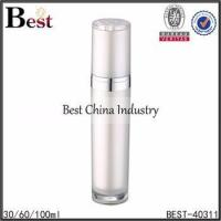 Buy cheap face cream airless bottle 30/60/100ml available, plastic bottle with high quality and best service from wholesalers