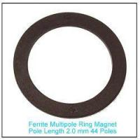 Buy cheap Sensor Ferrite Multipole Ring Magnet Pole Length 2.0 mm 44 Poles from wholesalers