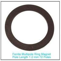 Buy cheap Plastic Bonded Strontium Ferrite Multipole Ring Magnet 72 poles for Sensor from wholesalers