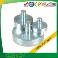 Buy cheap External Threaded Stud Pot(Cup) Magnets from wholesalers