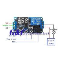 Buy cheap 12V Programmable timer relay module Delay Timer Control Switch with LED from wholesalers