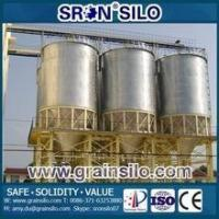 Buy cheap SRON Brand Chicken and horse hopper bottom metal feed bins from wholesalers