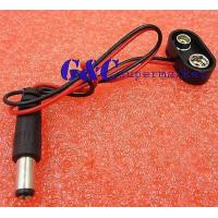 Buy cheap 50 pcs Battery Power Cable Plug Clip 9V DC Barrel Jack Connector DIY from wholesalers