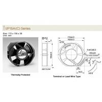 Buy cheap AC Tube Axial Fan UF15A(C) Series from wholesalers