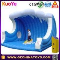 Buy cheap inflatable mechanical surfing board mechanical surfboard ride from wholesalers