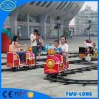 Electric mini train touring car park rides track train for indoor playground made in china