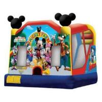 Mickey Park Bouncer Slide C4 Ships within 24-72 hours via Freight Truck