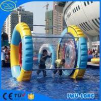Buy cheap Sunmmer Water games human sized hamster ball For Kids/inflatable fun roller from wholesalers