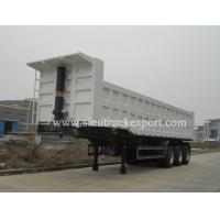 Buy cheap 3 FUWA/BPW Axles Front Tipping Semi-trailer product