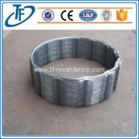 BTO-22 low price galvanized concertina razor wire, razor wire fencing