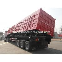 Buy cheap 3 FUWA/BPW Axles Side Tipping Semi-trailer product