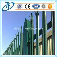 2016 Europe style security ornamental international community steel fence