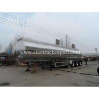 Buy cheap 3 FUWA/BPW Axles Aluminium Oil Tank Semi-trailer from wholesalers