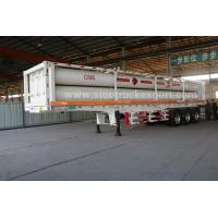 Buy cheap 3 FUWA/BPW Axles CNG Transport Semi-trailer product