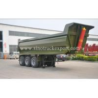 Buy cheap 3 FUWA/BPW Axles U-Type Cargo Box Front Tipping Semi-trailer product